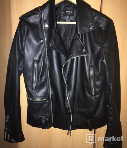 Koženná bunda  forever21