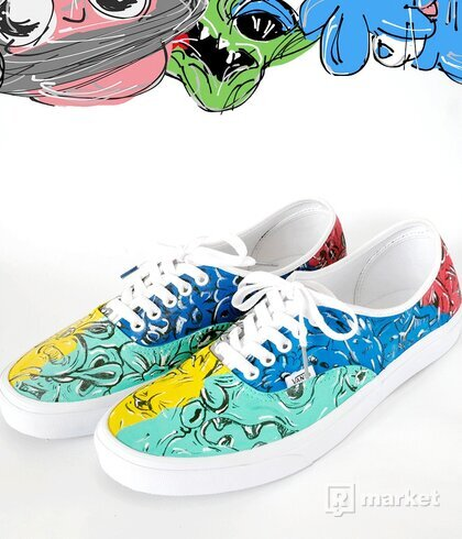 "VANS AUTHENTIC ""DOODLES"""