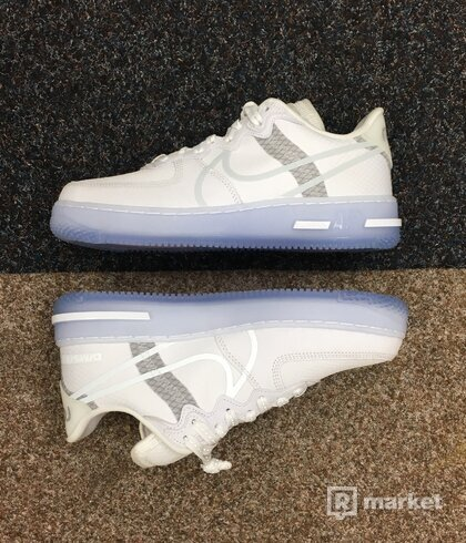 Nike Air Force 1 React Light Bone