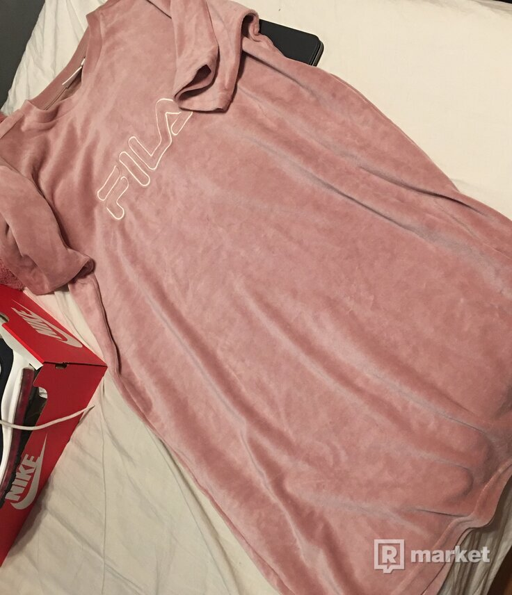 fila tshirt dress