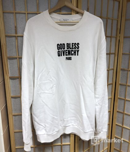 Givenchy God bless crewneck
