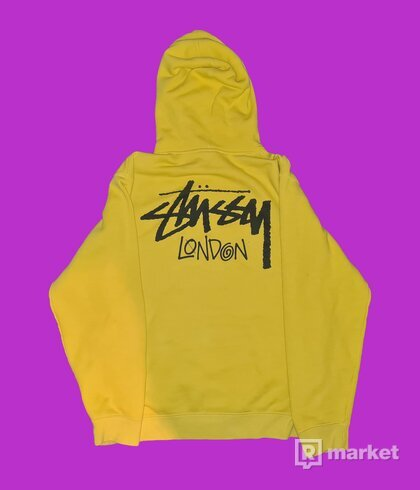 Stussy London 2019 Yellow