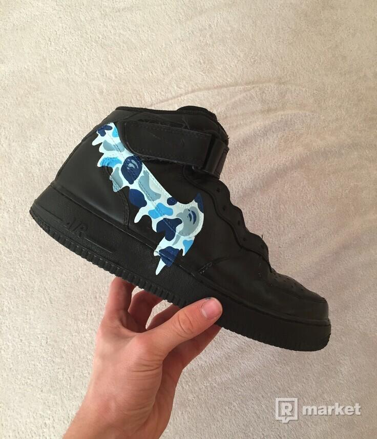 Nike Air Force 1 Mid custom