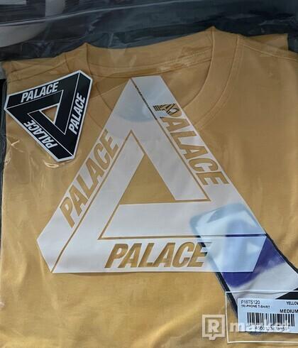 Palace Tri-Phone Yellow TEE