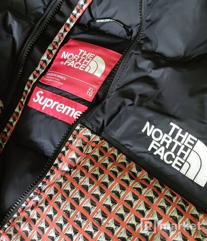 Supreme/North Face Studded Nurse Vest