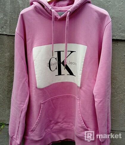 Calvin Klein pink hoodie
