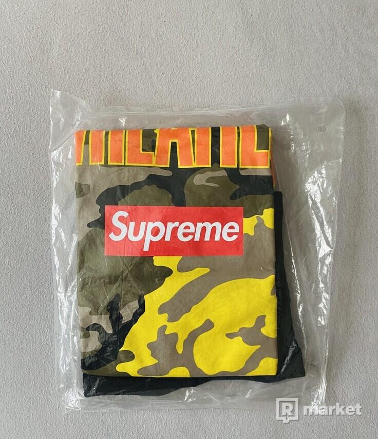 Supreme x Wheaties Tee Black