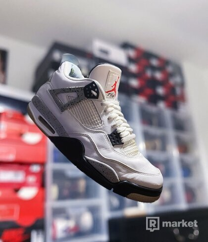 "Air Jordan 4 Retro OG ""White Cement"""