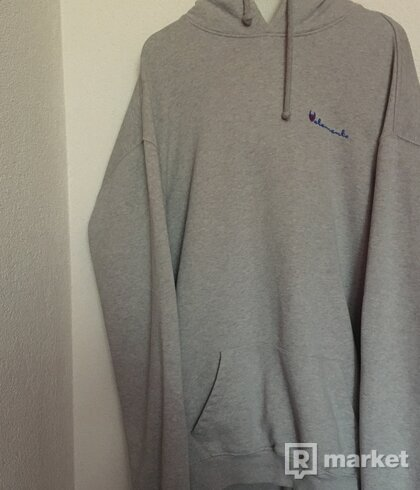 Vetements Champion Logo hoodie