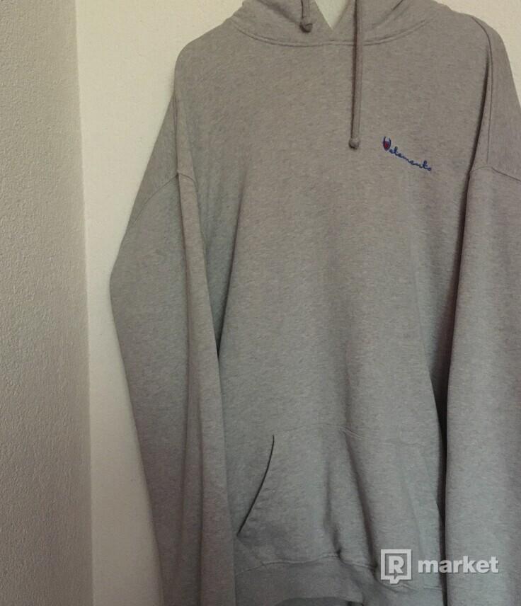 Vetements Champion Logo hoodie