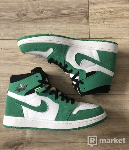 Air Jordan 1 ZOOM Stadium green