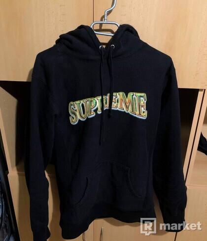 Supreme hoodie black