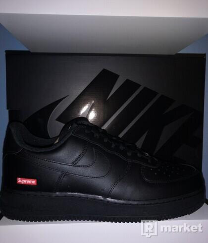 Nike Air Force 1 Supreme Black 41, 44.5
