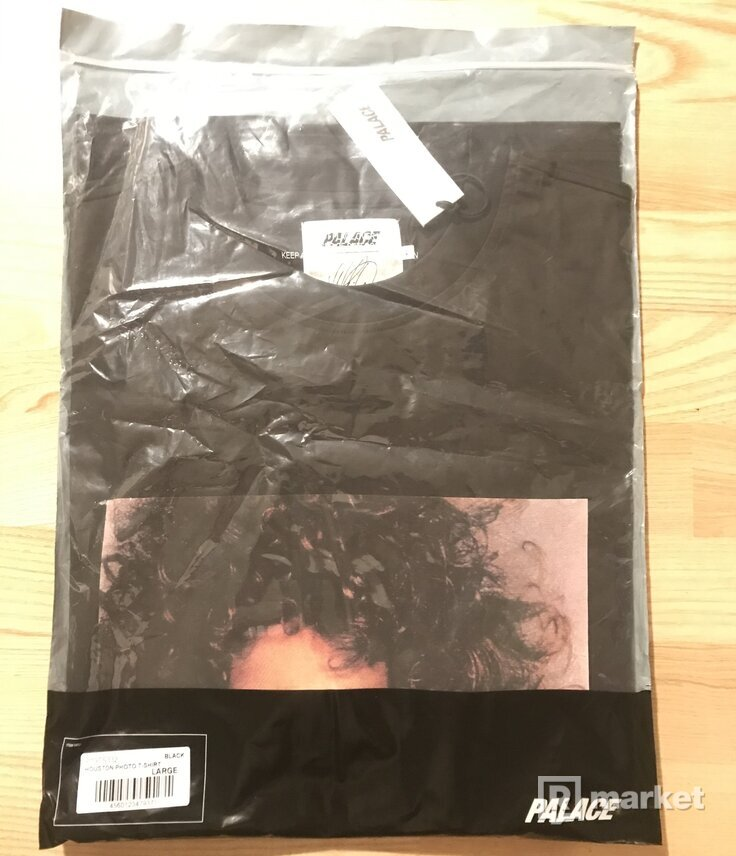 Palace Houston Tee Black (size:L)