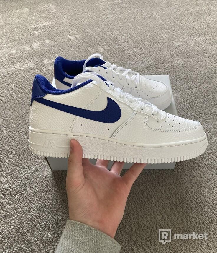 Nike Air Force 1 white/blue