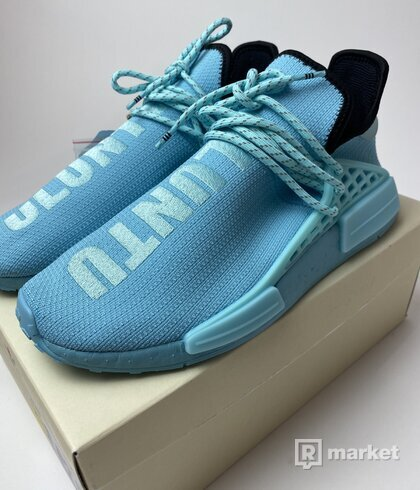 Adidas NMD Hu Pharrell Williams Clear Aqua