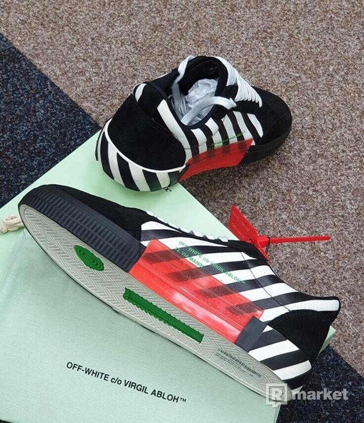 OFF-WHITE vulc sneakers Violet Stripe
