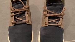 Kožené topánky Timberland (vel. 44)