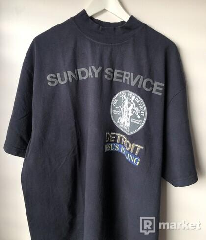 Kanye West Sunday Service Detroit Tee