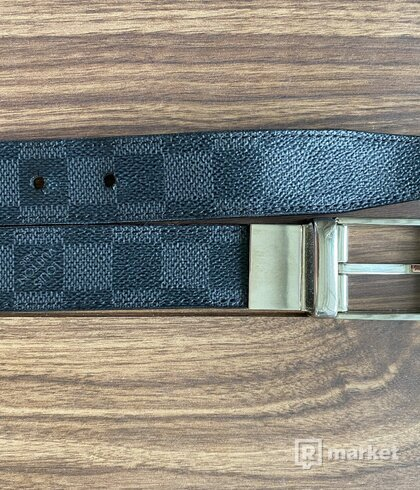 Louis Vuitton Belt VINTAGE PONT NEUF 35MM