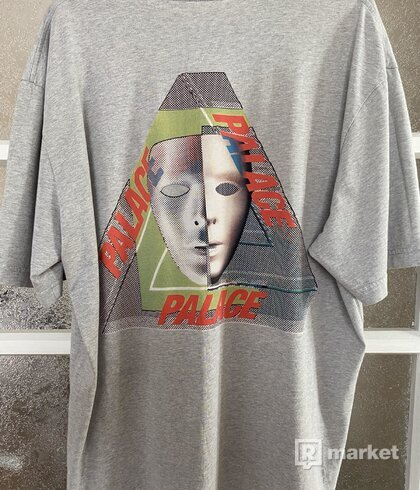 Palace Tri-Bury Tee Grey