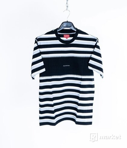 Blocked Stripe S/S Top