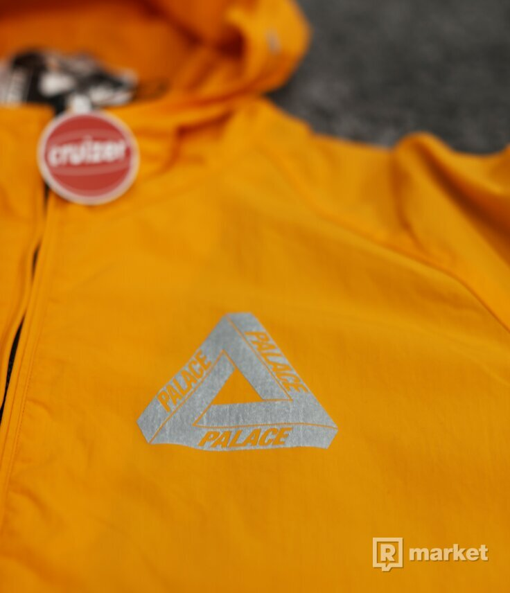 Palace Crank Jacket Orange Reflective