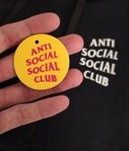 Anti Social Social Club Kkoch Hoodie Black
