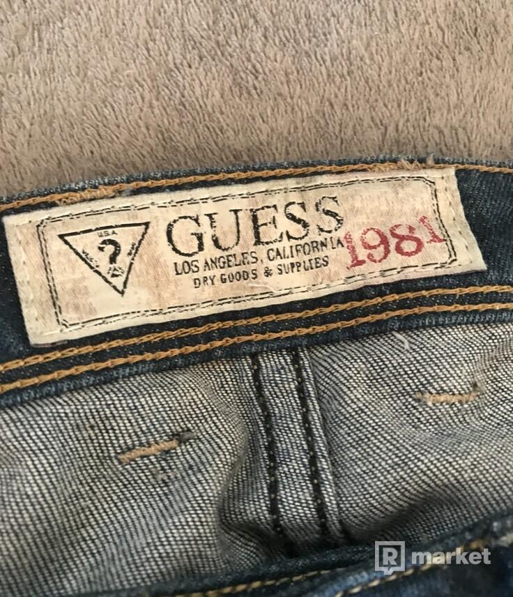 Guess džínsy