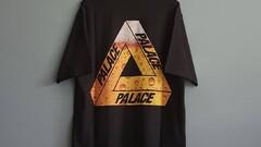 "Palace ""Tri-Lager Tee Black"""