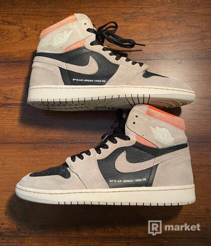Jordan 1  Neutral Grey