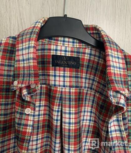 Valentino Flanelová Košeľa