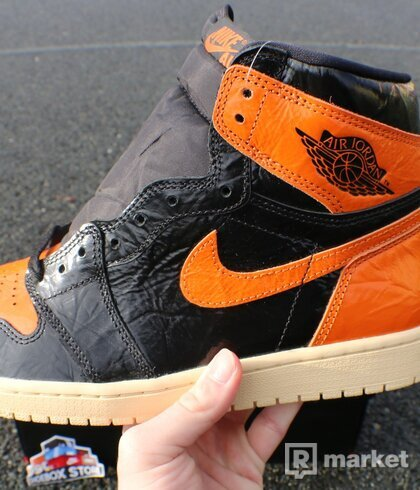 Jordan 1 High Shattered Backboard