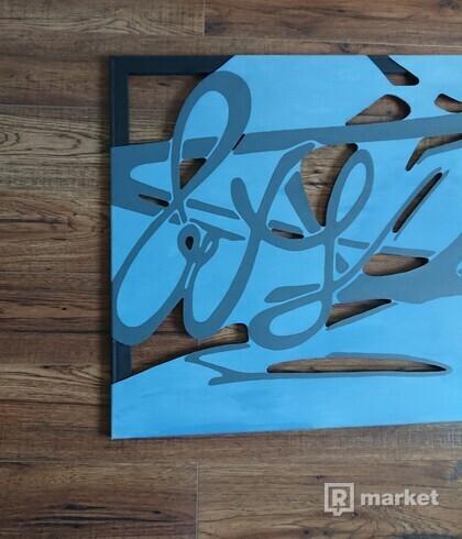 fade ( priestorové plátno - umenie )