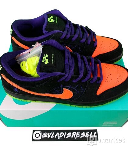 Nike SB Dunk Low Night Of The Mischief Halloween