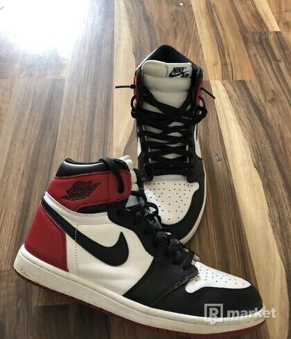 Black Toe Size 44