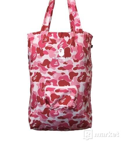 Bape Pink Camo Tote Bag