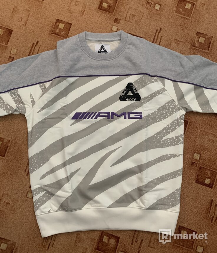 Palace AMG Technical Crew White