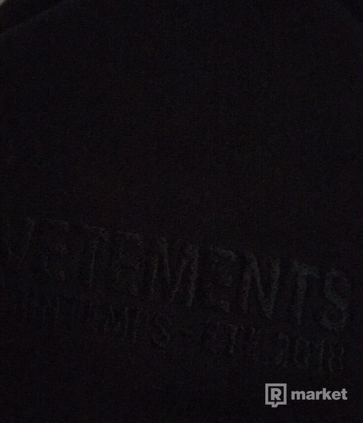 Vetements Collection hoodie Pour Homme