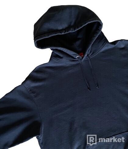 Supreme Rhinestone Navy hoodie