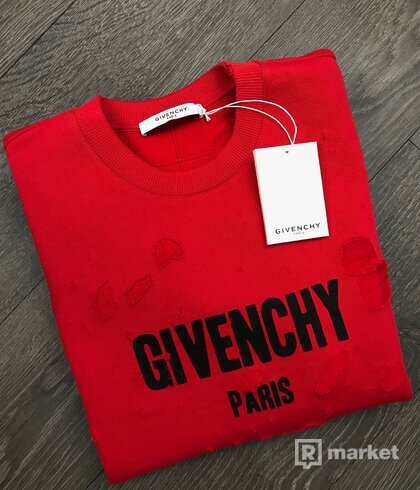 Givenchy destroyed mikina