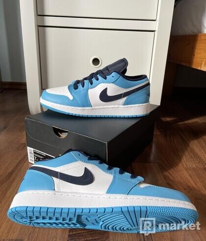 """Nike Air Jordan 1 Low GS - """"UNC"""""""