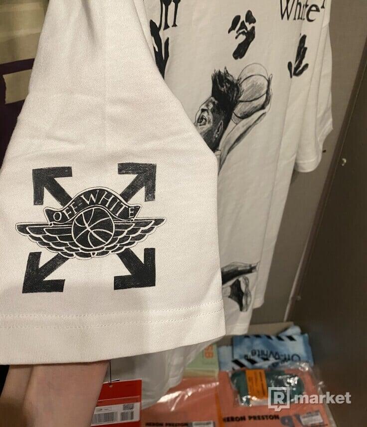 OFF-WHITE x Jordan T-Shirt White