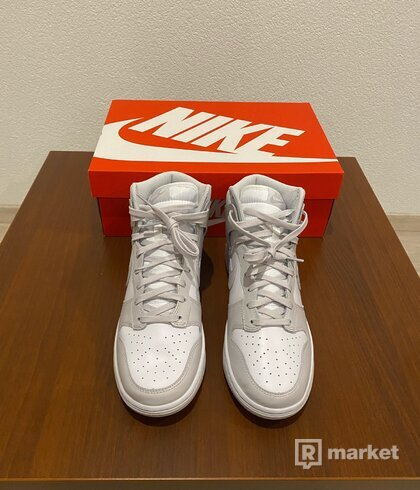 Dunk High Vast Grey