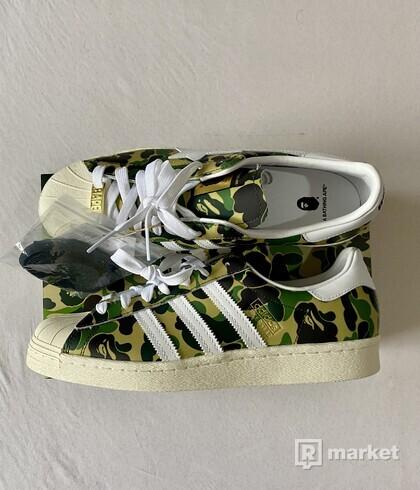 Adidas Superstar x BAPE