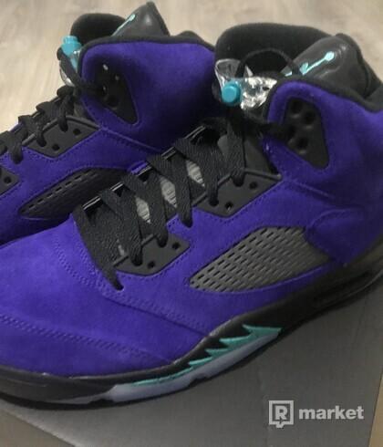 AJ 5 Retro / Purple Grape