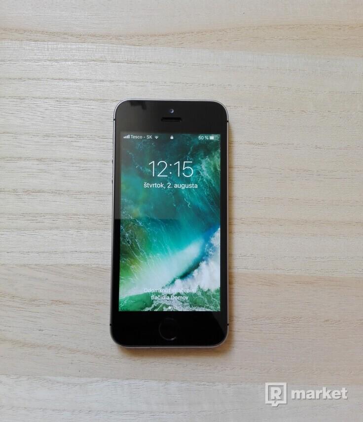 iPhone 5S 16GB Space grey, PLATNÁ ZÁRUKA + Darček