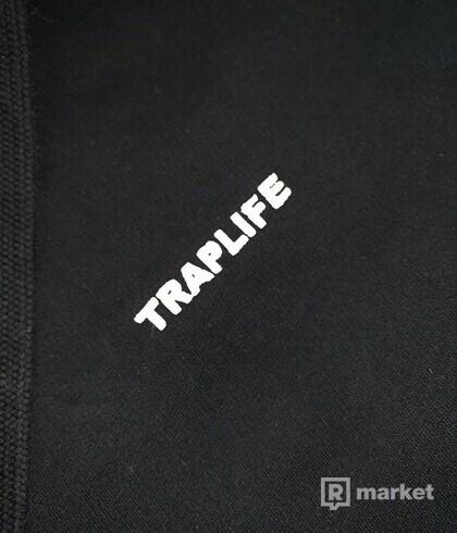 Traplife Black Hoodie L