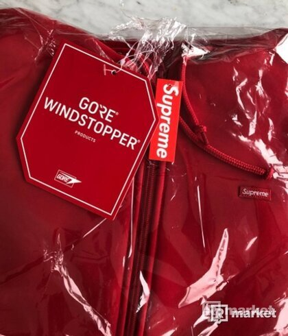 Supreme WindstopperS Zip Up Hooded Sweatshirt
