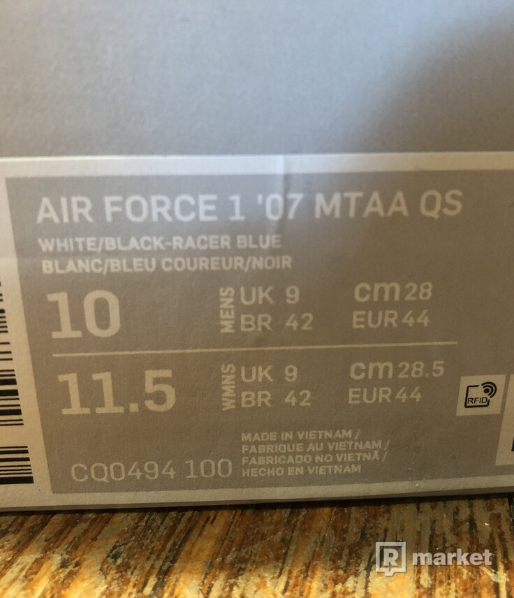 Air Force 1 Low Uninterrpted More Than